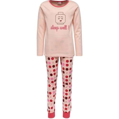 Lány Pizsama - Pöttyös #rózsaszín