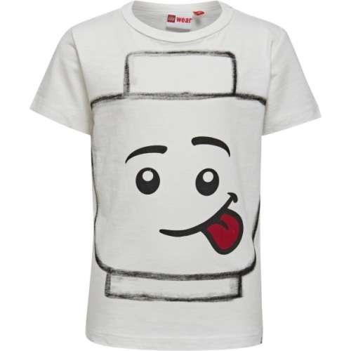 Teo702 Lego Wear #fehér Póló fiúknak