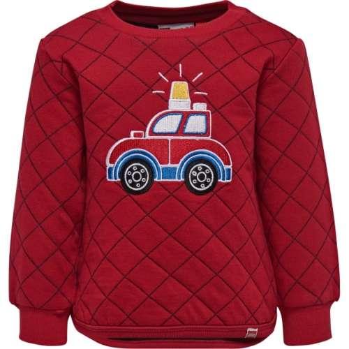 Sofus702 Lego Wear piros hosszúujjú fiú pulóver