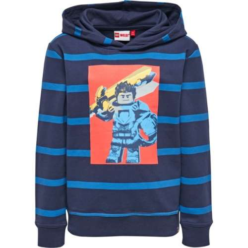 Saxton604 Lego Wear fiú hosszúujjú kapucnis pulóver