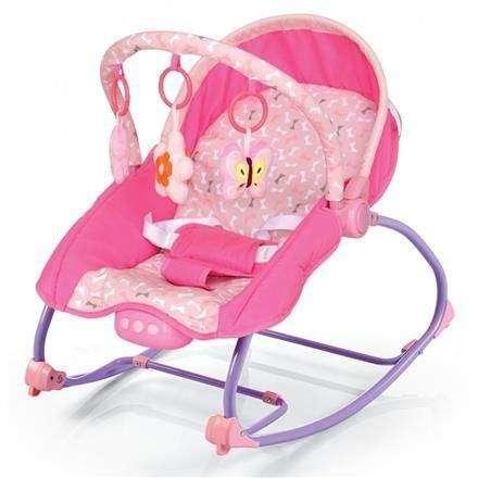 Baby Mix hordozható rezgő és zenélő Pihenőszék #pink