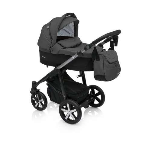 Baby Design Husky 2:1 multifunkciós Babakocsi + Winter Pack 10 Black #fekete 2018