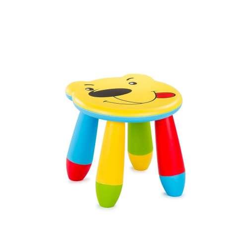 Chipolino műanyag kis szék - Bear #sárga