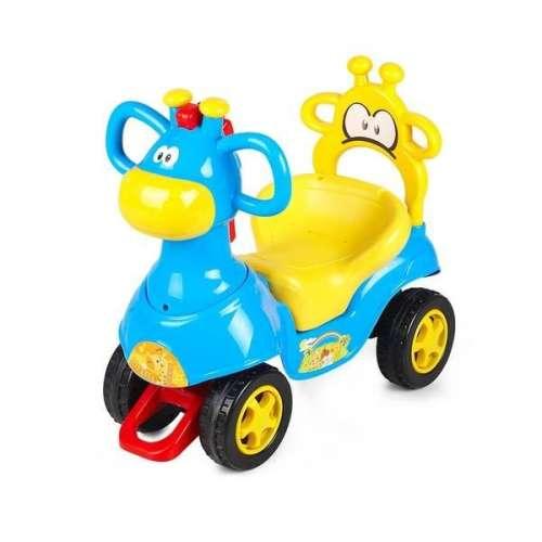 Chipolino Giraffe Bébitaxi #kék-sárga
