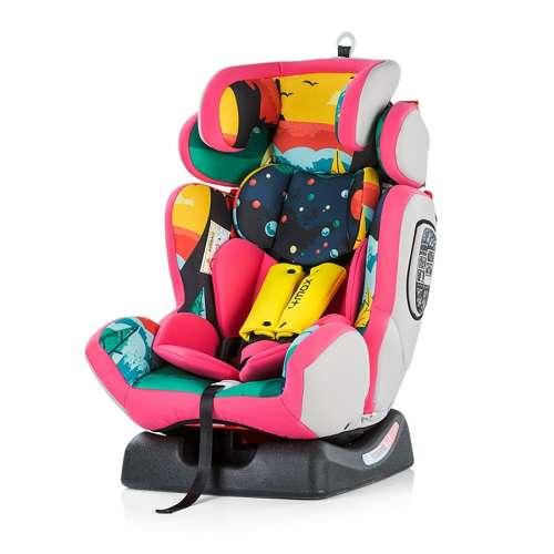 Chipolino 4 Max Autósülés 0-36kg #rózsaszín 2018
