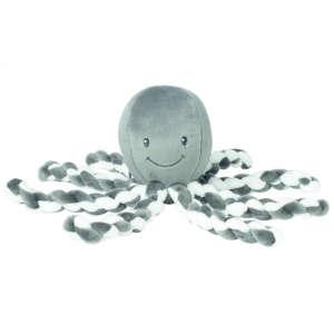 Nattou plüss játék 23cm Octopus antracit  30255324