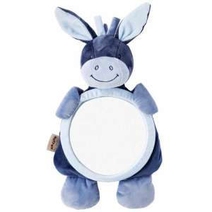 Nattou plüss babafigyelő Tükör - Csacsi #kék 30255412 Kiegészítők utazáshoz