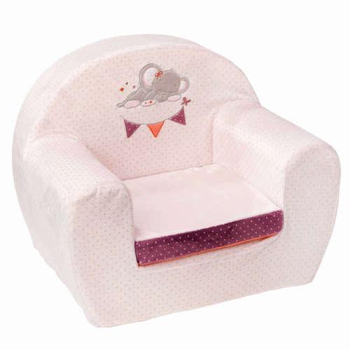 Nattou plüss fotel Adele & Valentine