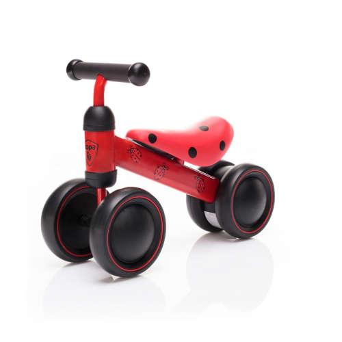 Zopa Zooter Futóbicikli duplakerekű - Ladybird -katica #piros