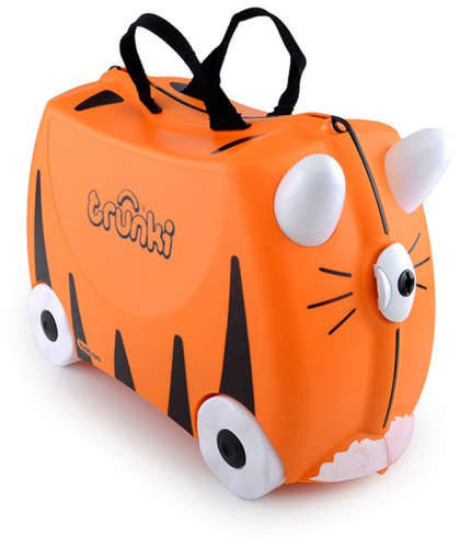 Trunki gyermek bőrönd - Tipu a tigris