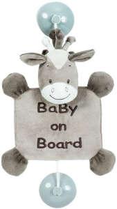 """Nattou plüss """"Baby on Board"""" jelzés 30255462 Baby on board jelzés"""
