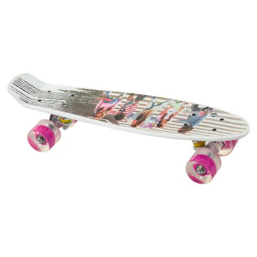 Penny board gördeszka #rózsaszín
