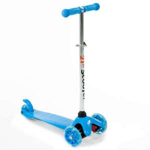 Háromkerekű világító roller #kék 30477353