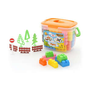 Pigmy műanyag Építőjáték 54db 30477934 Műanyag építőjáték