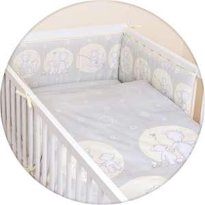 Ceba Baby 5 részes Babaágynemű - Maci #szürke 30305625 Ceba