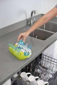 Boon Clutch eszköztároló kosár mosogatáshoz #zöld-fehér 30478474 Konyhai eszköz