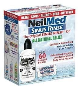 NeilMed Sinu Rines Orr átmosó szett 60db tasakkal 9 év felettieknek 30489856 Orrszívó, orr spray