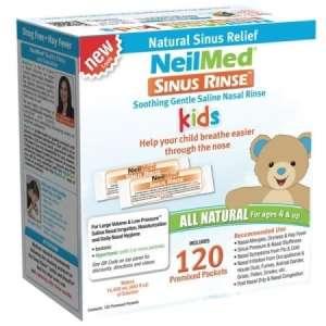 NeilMed Sinu Rines Utántöltő só 120db 4-9 éveseknek 30490131 Orrszívó, orr spray