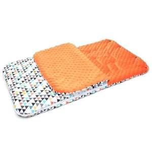 Babakocsi Bundazsák - Színes háromszögek #narancssárga 30487862 Lábzsák és bundazsák