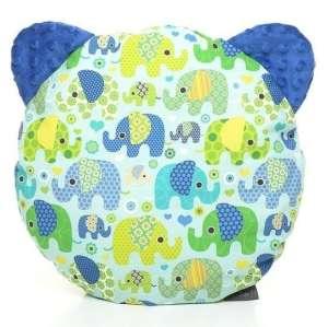 Pihe-puha Macipárna - Elefánt #kék 30478378 Párna