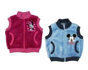 Disney Minnie Mickey baba/gyerek wellsoft Mellény (méret: 62-110) 30488097 Gyerek mellény