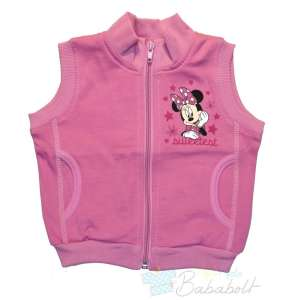 Disney Mickey Minnie bolyhos pamut Mellény (méret: 74-116) 30482413 Gyerek mellény