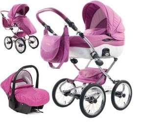 Tako Sunline Premium Babakocsi 3in1 #rózsaszín 30617250 Babakocsi