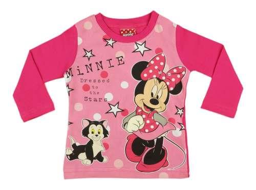 6112bd0532 Disney Minnie hosszú ujjú lányka Póló (méret: 74-116) | Pepita.hu