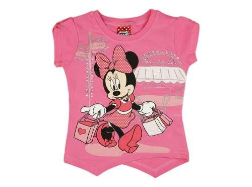 Disney Minnie rövid ujjú lányka Pólóx (méret 80-116)