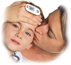 Mebby Mothers Touch digitális Homlokhőmérő 30488474