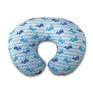 Boppy szoptatós Párna #kék Whales 30484162 Szoptatós párna, betét, huzat