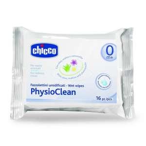 Chicco PhysioClean nedves Orrtörlőkendő 16db 30489916 Törlőkendő