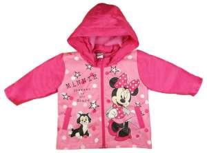 Disney Minnie vízlepergetős polár béléses átmeneti Kabát (méret: 74-116) 30484342