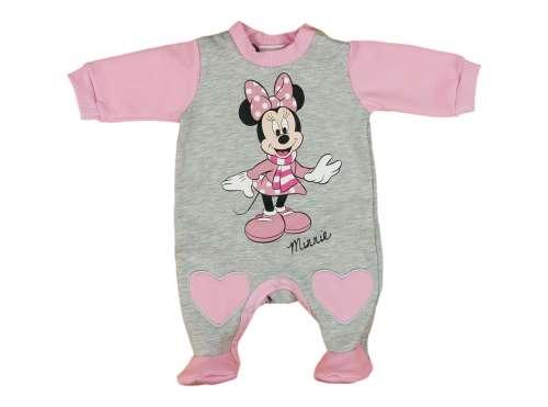 Disney Minnie belül bolyhos hosszú ujjú Rugdalózó (méret  50-80 ... 91a9f46611