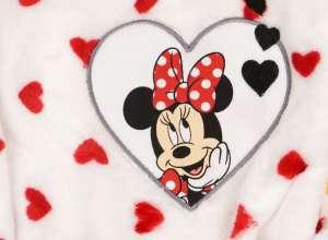 Disney Minnie lányka wellsoft Köntös - Szívecskés (méret: 74-128) 30484296