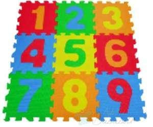 Free Play Baby Puzzle szőnyeg - Számok 30374121 Szivacs puzzle