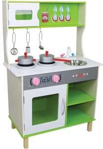 Freeon De Luxe Játékkonyha #zöld-fehér