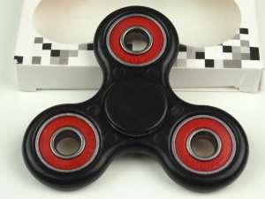 Fidget Spinner Pörgettyű 2 tengelyes #fekete 30480820