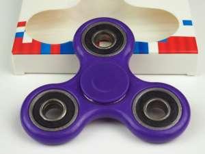 Fidget Spinner Pörgettyű #lila 30485777 Fejlesztő játék iskolásoknak