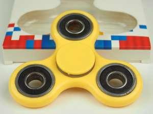 Fidget Spinner Pörgettyű #sárga 30482686 Fejlesztő játék iskolásoknak