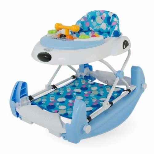 DHS Baby Swing Bébikomp hinta funkcióval #kék