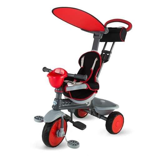DHS Enjoy Plus szülőkormányos Tricikli #piros