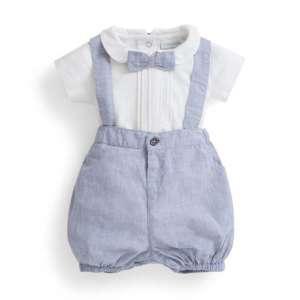 JoJo Alkalmi Fiú 3 részes Szett #fehér-kék 30263040 Alkalmi és ünneplő ruha