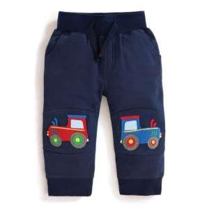 JoJo #sötétkék traktormintás nadrág 30263041
