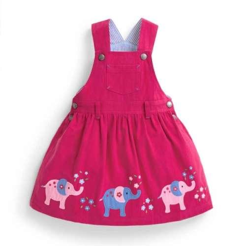 Jojo ujjatlan Kislány ruha - Elefánt #rózsaszín