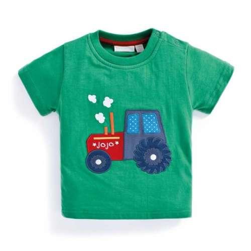 JoJo #zöld traktoros Póló