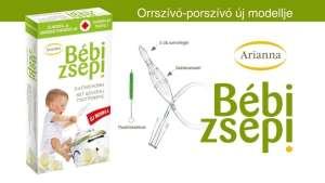 Arianna Bébi zsepi Orrszívó-Prszívó 30309039 Orrszívó, orr spray