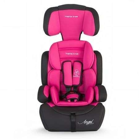 Mama Love Angel biztonsági Autósülés 9-36kg #fekete-pink