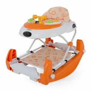 DHS Baby Swing Bébikomp hinta funkcióval #narancssárga 30304498