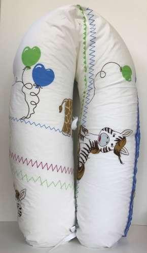 2bc2b041cc Baba-Mama többfunkciós Párna #kék lufis zoo   Pepita.hu